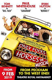 <i>Only Fools and Horses The Musical</i> 2019 British stage musical