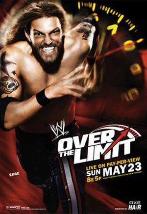 Over the Limit (2010) - Promotional poster featuring Edge