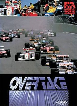 Overtake (video game) - Cover art