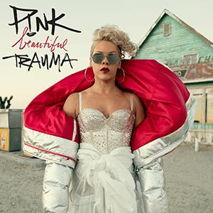 Beautiful Trauma - Image: PINK Beautiful Trauma (Official Album Cover)