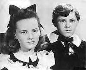 Vice Versa (1948 film) - Petula Clark and Anthony Newley