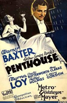 Poster of Penthouse (film).jpg