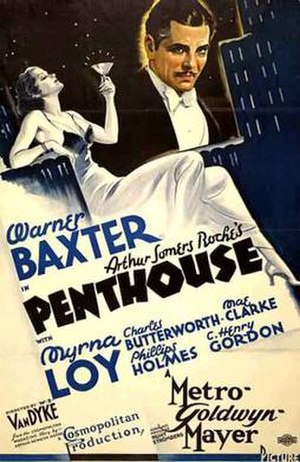 Penthouse (film) - theatrical poster