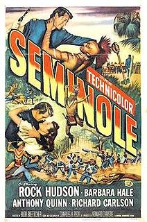 <i>Seminole</i> (film) 1953 film by Budd Boetticher