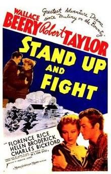 Poster of the movie Stand Up and Fight.jpg