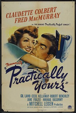 Practically Yours - Theatrical release poster