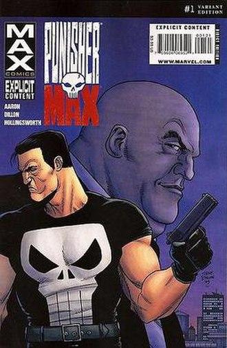 Punisher Max - Image: Punisher MAX 1 Dillon