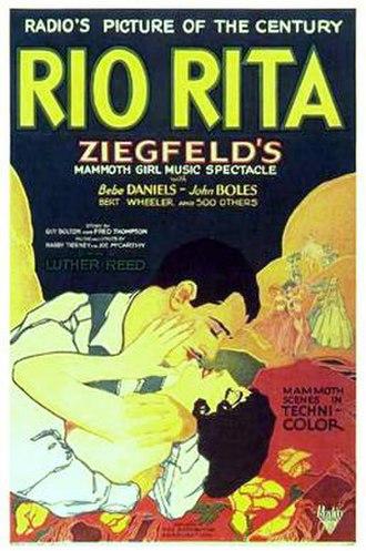 Rio Rita (1929 film) - Theatrical release poster