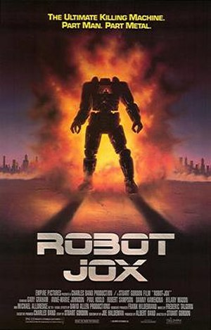 Robot Jox - Theatrical release poster