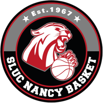 SLUC Nancy Basket - Image: SLUC Nancy logo 2015