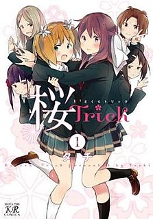 <i>Sakura Trick</i> Japanese yonkoma manga