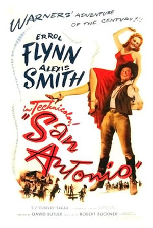 San Antonio (film) - Theatrical poster