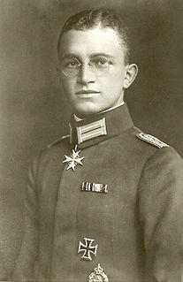 Kurt Wintgens German flying ace