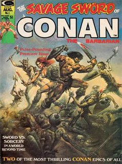 <i>Savage Sword of Conan</i> north-american comic book