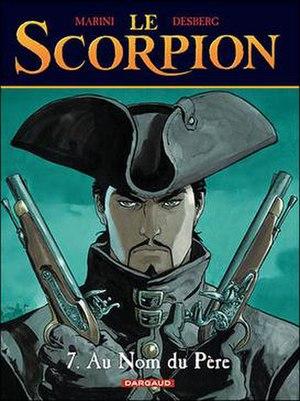Le Scorpion - Cover to Le Scorpion Tome 7 '.  Art by Enrico Marini.