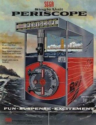 Periscope (arcade game) - Image: Sega Periscope