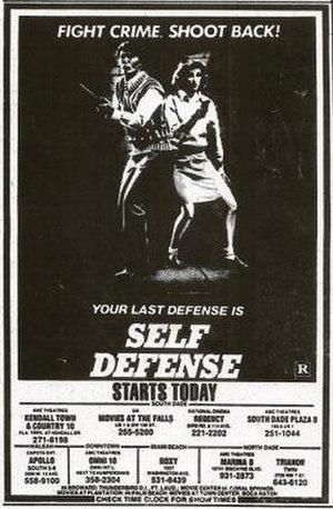 Self Defense (film) - Image: Self Defense Film Poster