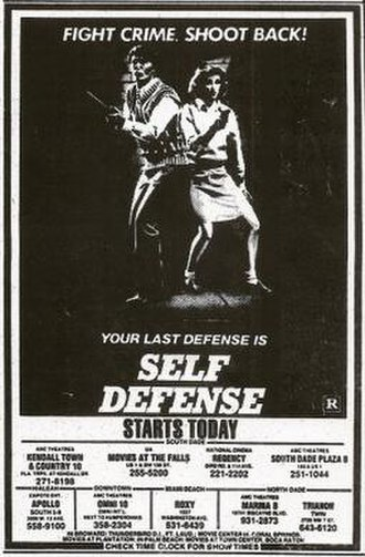 Self Defense (film) - Image: Self Defense Film Poster