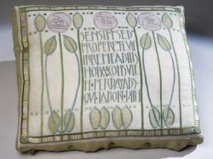 Jessie Newbery - Image: Sensim Sed cushion cover by Jessie Newbery