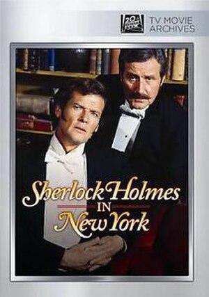 Sherlock Holmes in New York - DVD artwork