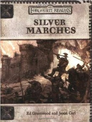 Silver Marches (accessory) - Image: Silver Marches (D&D manual)