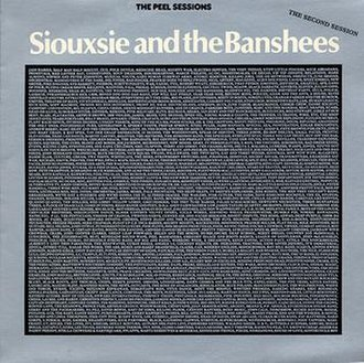The Peel Sessions (Siouxsie and the Banshees) - Image: Siouxsieandthe Banshees The Peel Sessions 1989