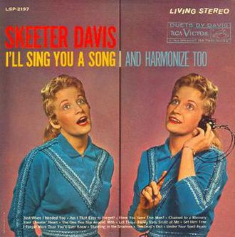 I'll Sing You a Song and Harmonize Too - Image: Skeeter Davis I'll Sing You a Song and Harmonize Too