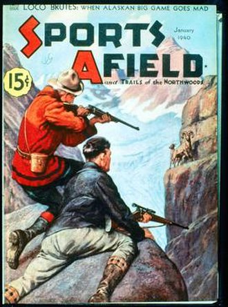 Sports Afield - A classic Sports Afield cover.