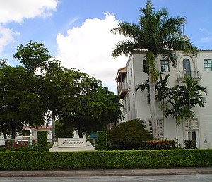 Roman Catholic Archdiocese of Miami - St. Theresa School, a K–8 school located in Coral Gables, was established in 1925.