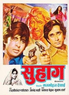 <i>Suhaag</i> (1979 film) 1979 film by Manmohan Desai