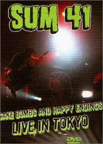 Sake Bombs and Happy Endings - The DVD cover of Sake Bombs and Happy Endings