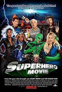 <i>Superhero Movie</i> 2008 film by Craig Mazin