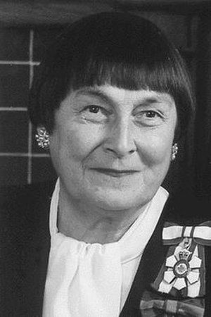 Sylvia Fedoruk - Former Lieutenant Governor of Saskatchewan, the Honourable Sylvia Fedoruk wearing the insignia of the Order of Canada