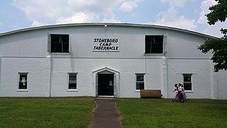 Tabernacle (Methodist) - Image: Tabernacle of Wesleyan Methodist Campground