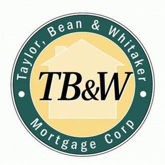 Taylor, Bean & Whitaker - Image: Taylor, Bean and Whitaker Mortgage Corp Logo