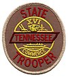Tennessee Highway Patrol's patch