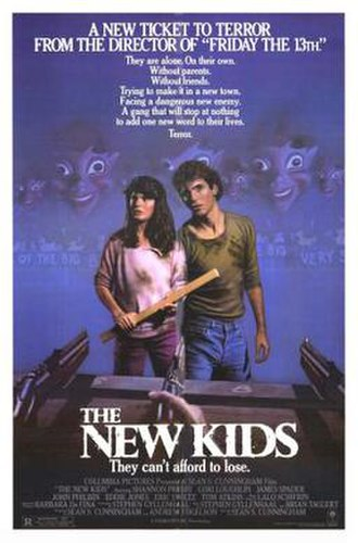 The New Kids - Theatrical release poster