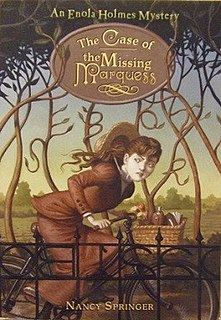 <i>The Enola Holmes Mysteries</i> Young adult fiction series by Nancy Springer