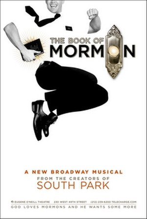 The Book of Mormon (musical) - Official poster of the original Broadway production