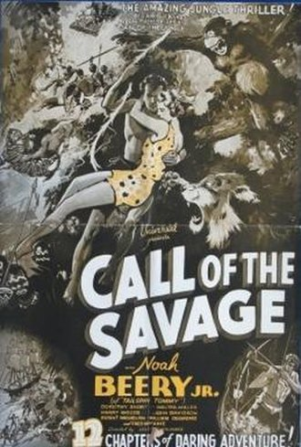 The Call of the Savage - Image: The Call of the Savage Film Poster