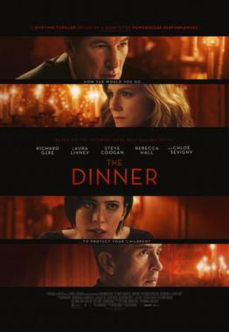 The Dinner (2017 film) - Theatrical release poster