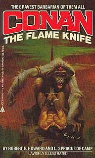 <i>The Flame Knife</i> book by Robert E. Howard