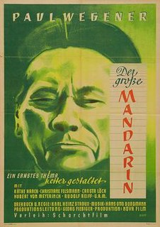 <i>The Great Mandarin</i> 1949 film