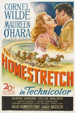 The Homestretch - Theatrical release poster
