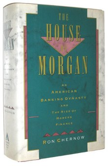 The House of Morgan (Ron Chernow novel) cover.jpg