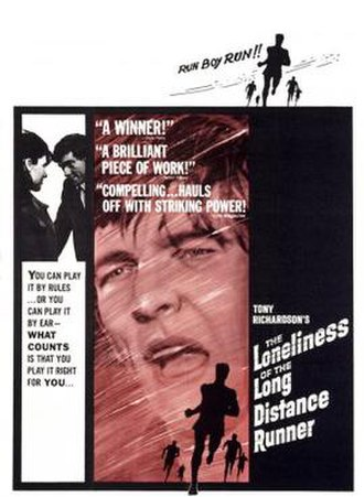 The Loneliness of the Long Distance Runner (film) - Theatrical release poster