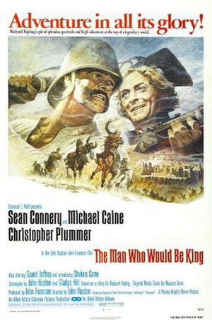 The Man Who Would Be King (film) - Theatrical release poster by Tom Jung