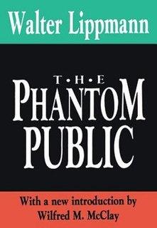 <i>The Phantom Public</i> Book by Walter Lippmann