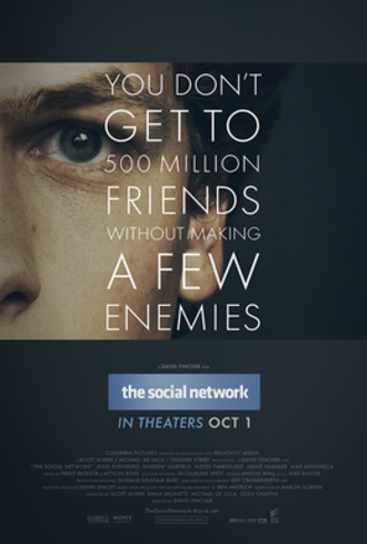 The Social Network - Theatrical release poster