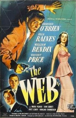 The Web (film) - Theatrical release poster